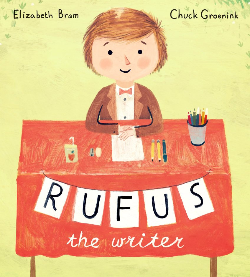 Rufus the Writer IMWAYR There's a Book for That