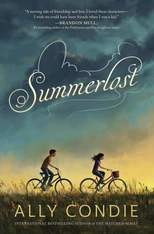 Summerlost Top Ten Tuesday: Titles that feature wonderful friendships in MG literature There's a Book for That