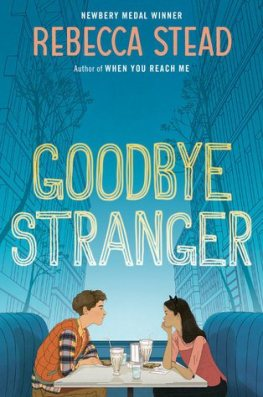 Goodbye Stranger Monday March 28th, 2016 There's a Book for That #IMWAYR