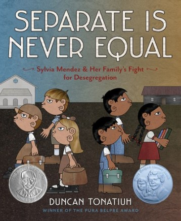 Separate is Never Equal Nonfiction Picture Book Wednesday: First read alouds in a Grade 4 & 5 classroom