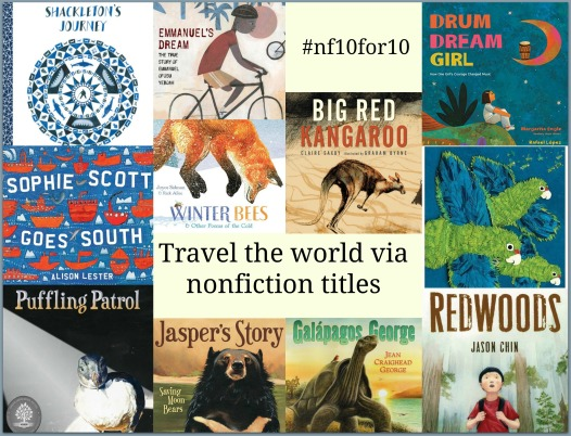 Nonfiction Ten for Ten: Travel the World