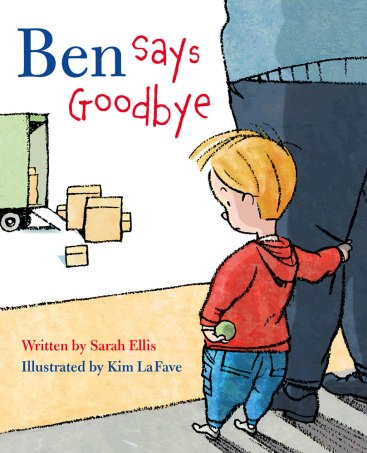 Ben Says Goodbye Monday March 7th, 2016 There's a Book for That #IMWAYR