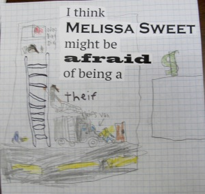 Riding through an artist's life - a celebration of Melissa Sweet There's a Book for That