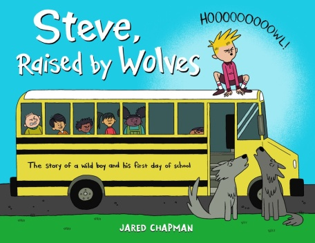 Steve Raised By Wolves Monday March 7th, 2016 There's a Book for That #IMWAYR