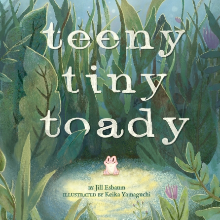 Teeny Tiny Toady Monday April 18th, 2016 #IMWAYR There's a Book for That