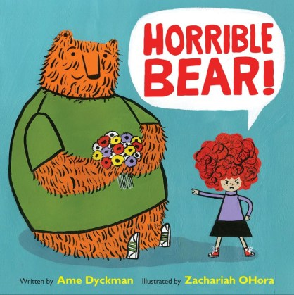 Horrible Bear Monday May 23rd, 2016 There's a Book for That