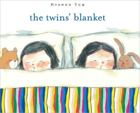 The Twins' blanket Monday June 6th, 2016 There's a Book for That
