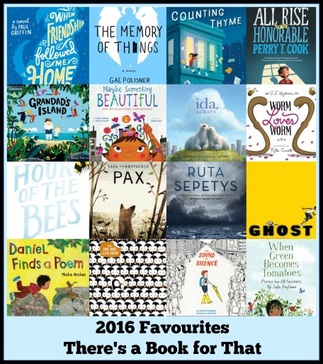 Favourites of 2016 There's a Book for That