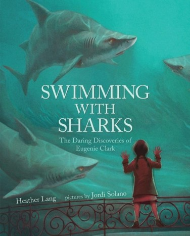 Nonfiction Picture Book Wednesday: Swimming with Sharks