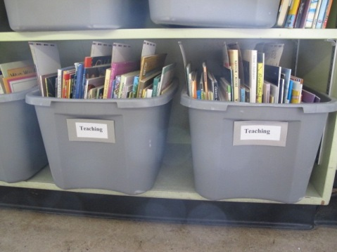 Summer Maintenance in the Classroom Library. Step 1: Relocate